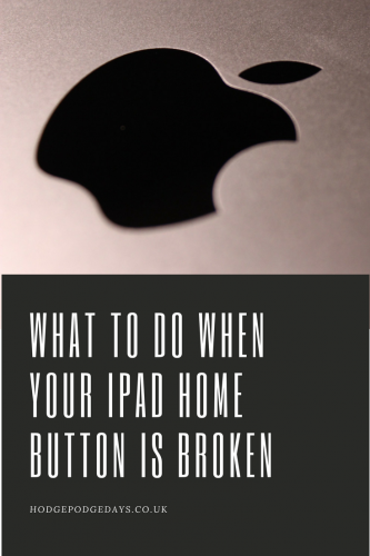 What to do when your ipad home button is broken