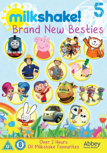 Giveaway & Review: Milkshake! Brand New Besties DVD