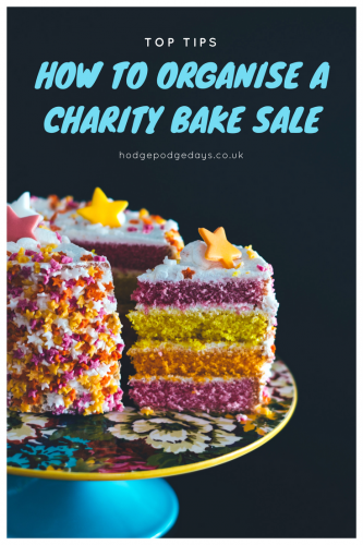 How to organise a successful charity bake sale