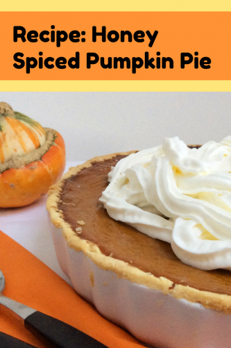 Recipe: Honey Spiced Pumpkin Pie