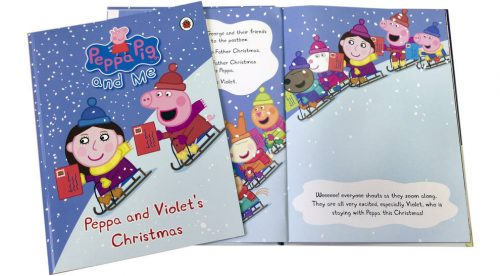 Win a Personalised Peppa Pig Book worth £14.99