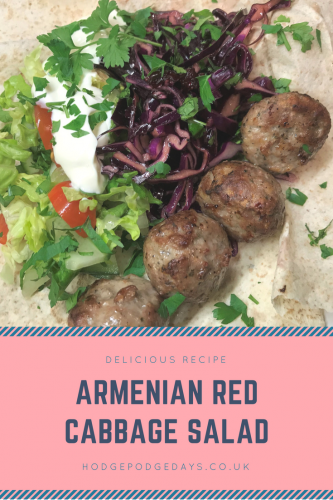 Recipe: Delicious Armenian Red Cabbage Salad