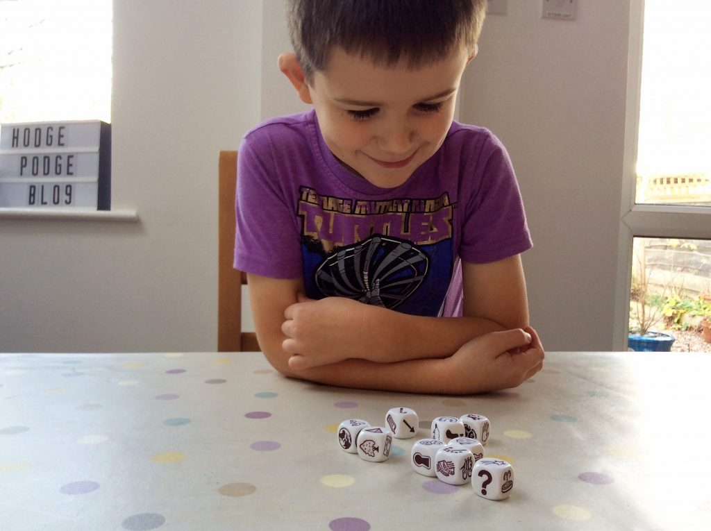 Board Game Club Review: Rory's Story Cubes