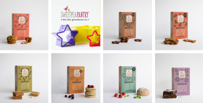Win a festive baking bundle from Sweetpea Pantry