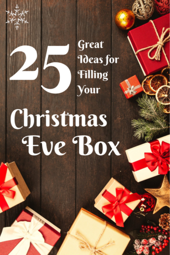 25 great ideas for filling your Christmas Eve Box