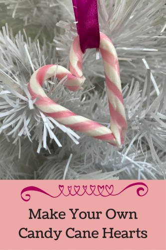 Christmas: Make your own Candy Cane Hearts