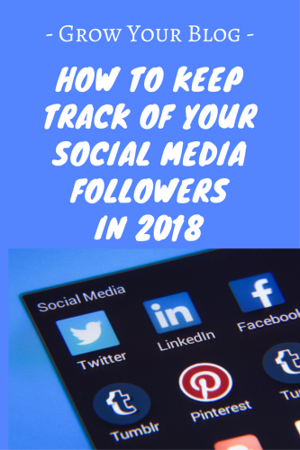 How to keep track of your Social Media Followers