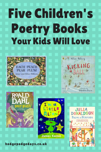 Children's Books: Five Children's Poetry Books