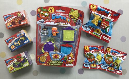 Toys: Introducing SuperZings - Rivals of Kaboom Blind Bags