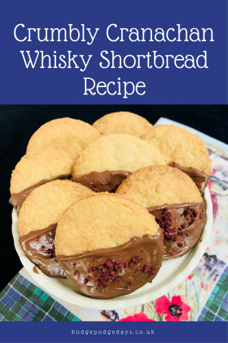 Recipe: Crumbly Cranachan Shortbread with Whisky