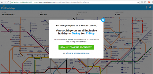 Could you go on holiday for the cost of your commute?