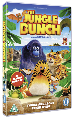 Giveaway & Review: The Jungle Bunch DVD