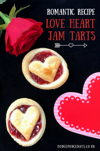Easy Recipe: Love Heart Jam Tarts