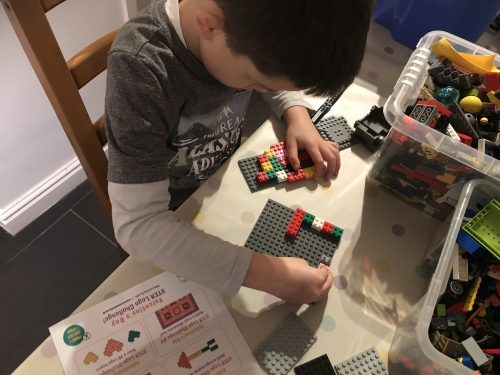Learning: Valentine's Lego STEM Challenge Cards