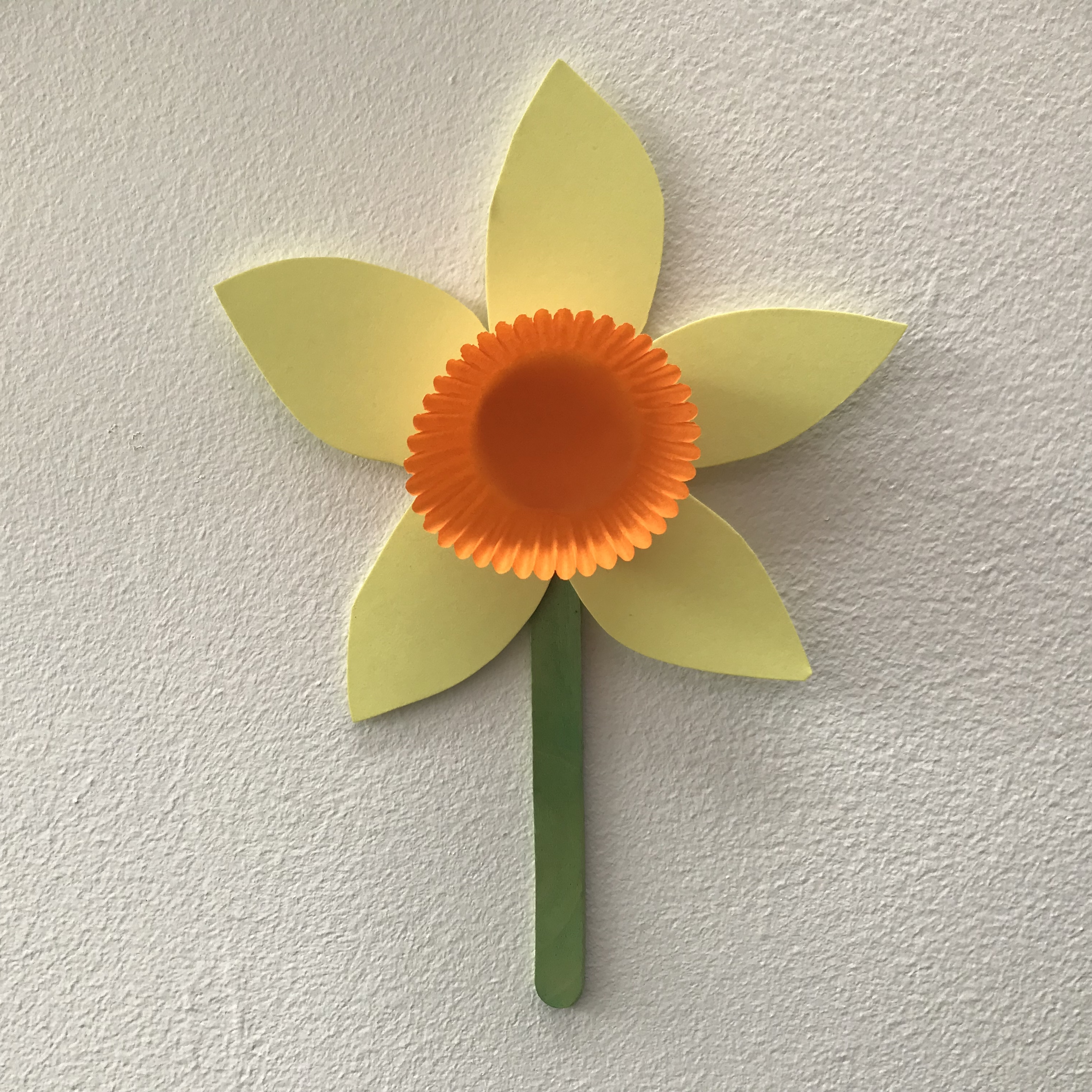 Origami - Daffodil, Narcissus (Paper Flower) - YouTube | 3024x3024