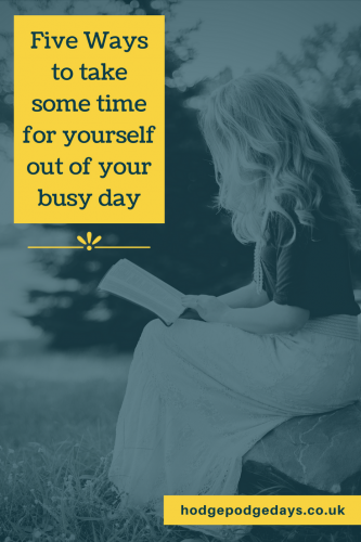 Five ways to take some time out of your busy day