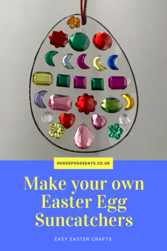 Easter Crafts: Make Colourful Easter Egg Suncatchers