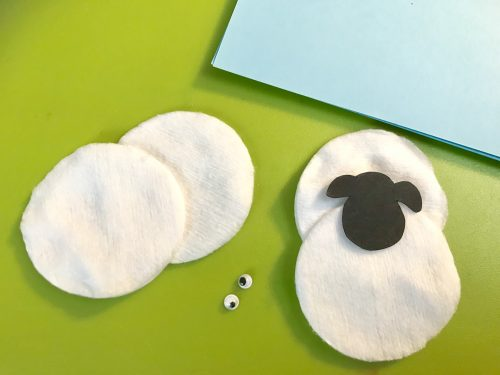 Kids Craft: Make a Super Simple Woolly Sheep Card