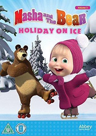 Win a Masha and the Bear Holiday on Ice DVD