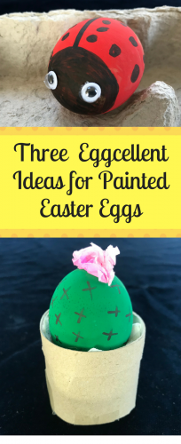 Easter Crafts: 3 Ideas for Eggcellent Painted Eggs
