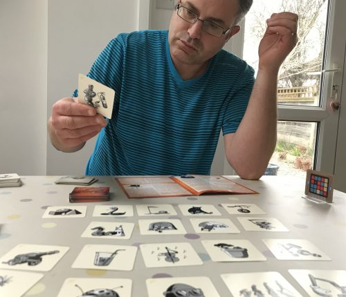 Blogger Board Game Club: Codenames Pictures