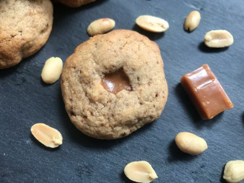 Recipe: Salted Peanut and Caramel Cookies