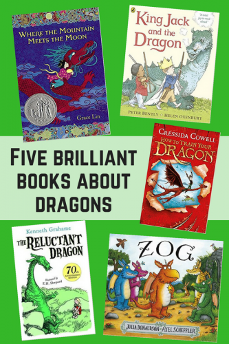 Children's Books: Five brilliant books about dragons