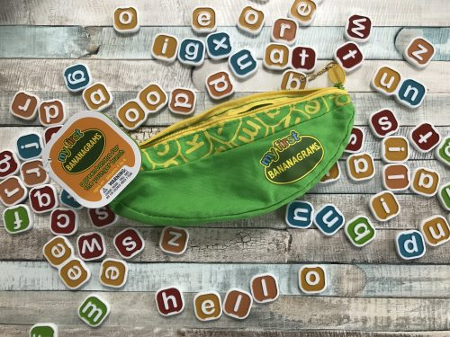 Blogger Board Game Club: My First Bananagrams
