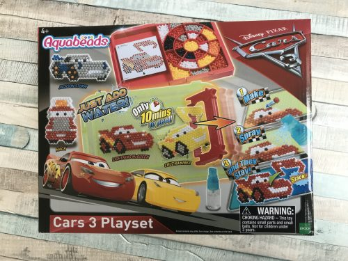 Kids Crafts: Disney Pixar Cars 3 Aquabeads Playset