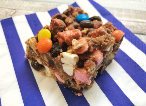 Easy Recipe: Chunky Rocky Road with M&Ms