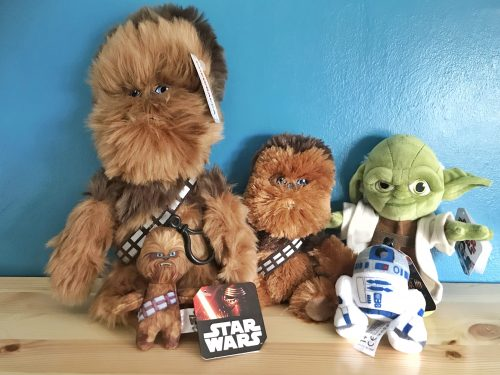 Star Wars Toys: Posh Paws Chewbacca Collection