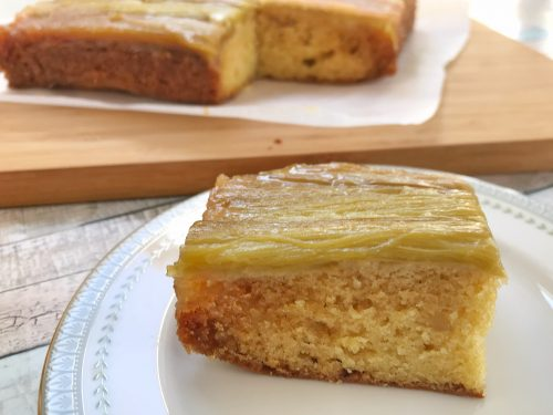 Recipe: Rhubarb and Ginger Upside-Down Cake