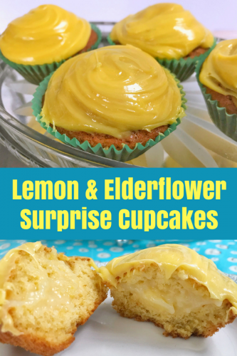 Recipe: Lemon and Elderflower Surprise Cupcakes