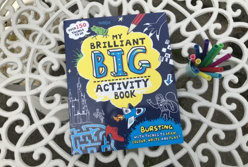 Giveaway & Review: My Brilliant Big Activity Book