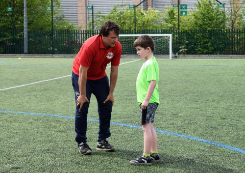 Little Sports Coaching - learn new footballing skills