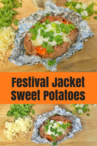 Easy Recipe: Festival Jacket Sweet Potatoes