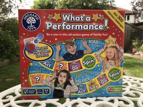 Review: Orchard Toys What a Performance Game