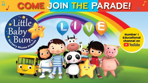 Win a family ticket to Little Baby Bum Live at The Lowry