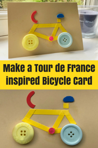 Crafts: Make a Tour de France inspired Bicycle Card