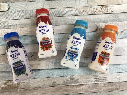 Healthy Recipe: Refreshing Lifeway Kefir Ice Lollies