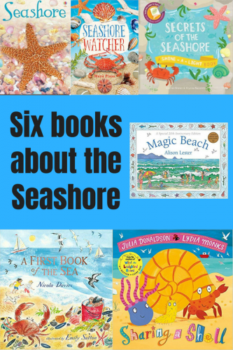 Children's Books: Six books about the Seashore