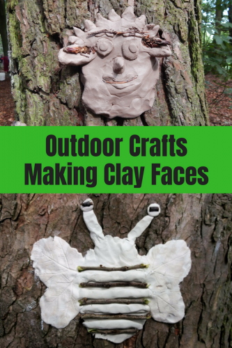 Outdoor Crafts: Making Clay Faces