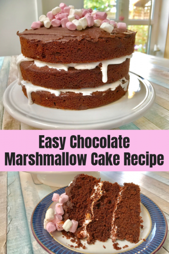 Recipe: Chocolate Marshmallow Cake