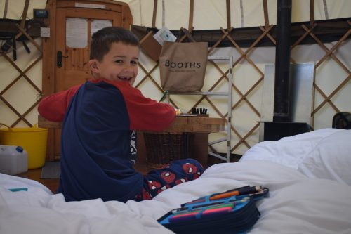 Glamping at Inside Out Camping, Keswick