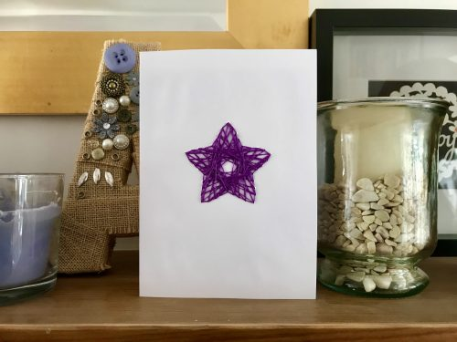 Crafts make your own string art greeting cards hodgepodgedays crafts make your own string art greeting cards m4hsunfo
