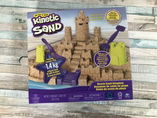 Sensory Play: Kinetic Sand Beach Sand Kingdom