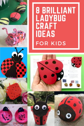 8 Brilliant Ladybug Craft Ideas for Kids