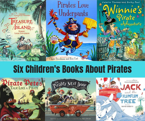 Six Children's Books About Pirates