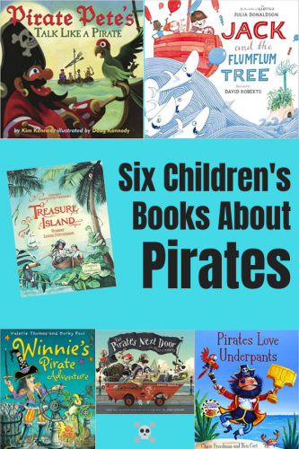 Six Children's Books About Pirates