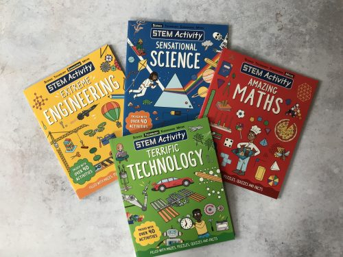 Giveaway & Review: STEM Activity Books